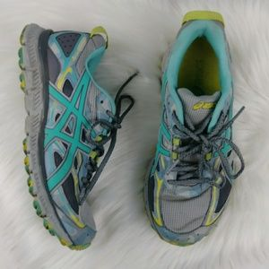 Asics Scram 3 Trail Running Shoes Gel Sneakers